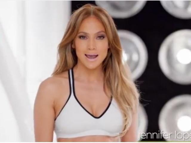 Jennifer López te entrena para conseguir sus curvas de infarto