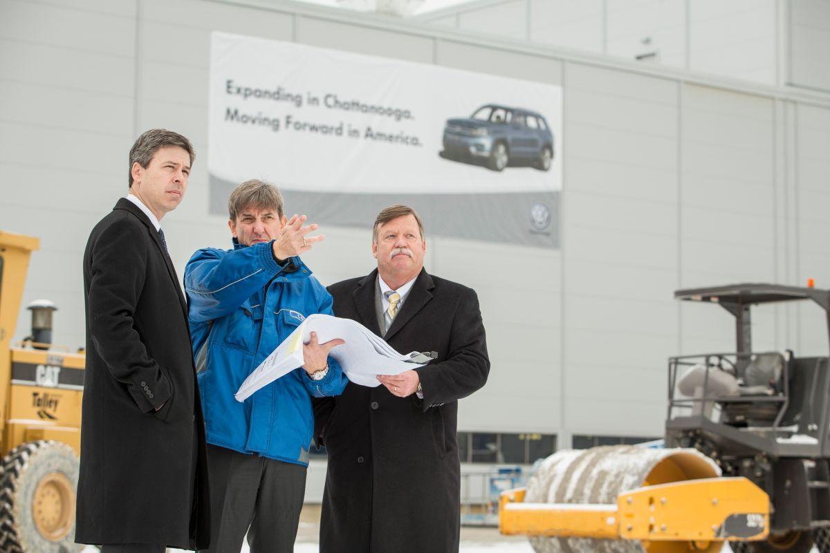 Planta de Volkswagen en Chattanooga crecerá 130,000 metros cuadrados