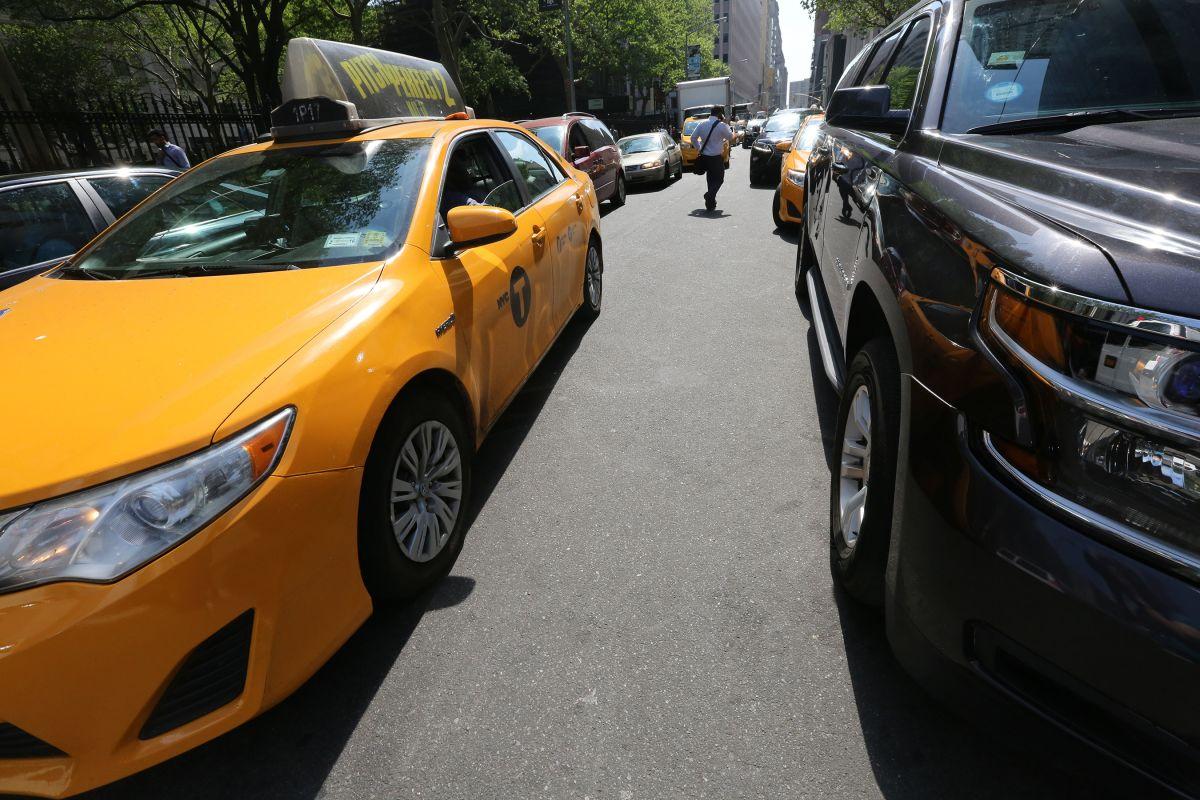 Taxi en NYC.