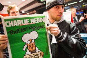 Charlie Hebdo recibe su premio PEN a la libertad de expresión