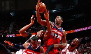 Wizards toman ventaja sobre Hawks
