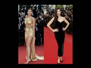 Adriana Lima vs. Irina Shayk: duelo de diosas en Cannes