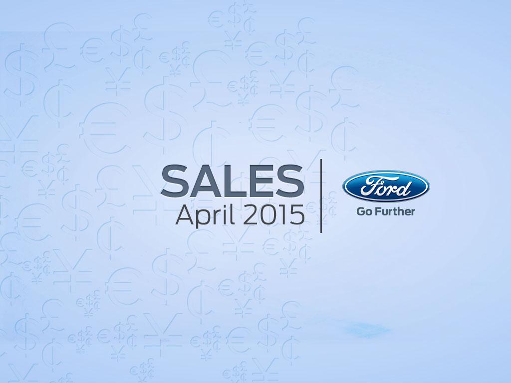Ford y sus récords de ventas en abril