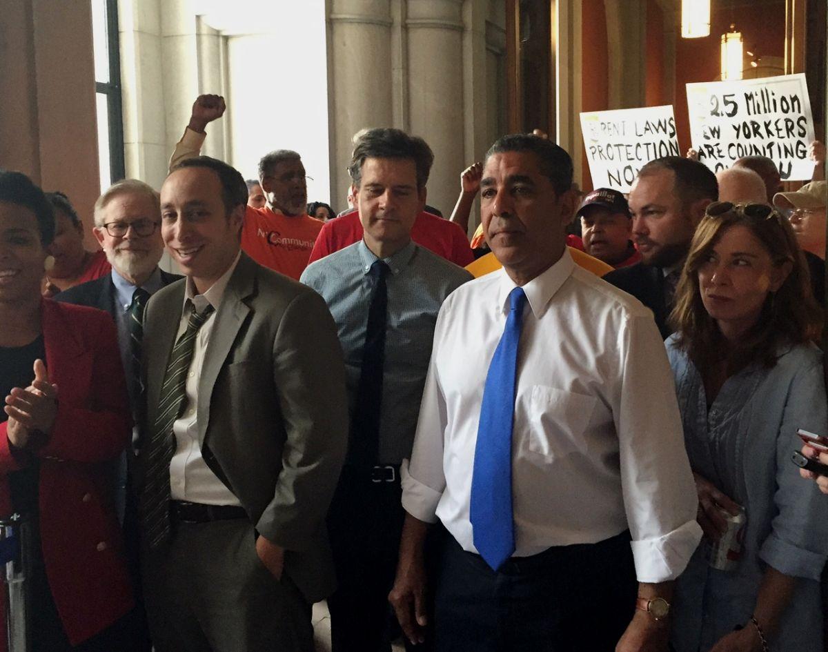 Desobediencia civil se toma Albany por leyes de renta