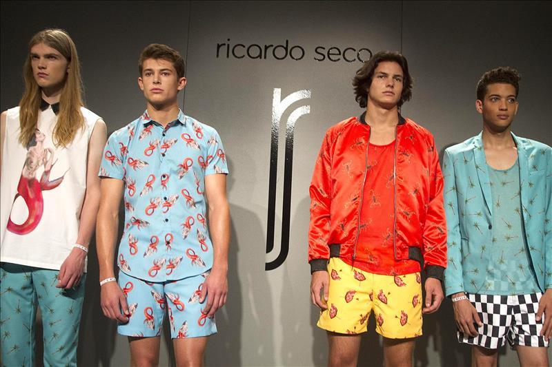 Ricardo Seco juega la lotería de la moda en el NYFW