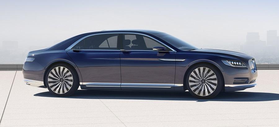 Cómodo y elegante, el Lincoln Continental se fabricará en Flat Rock