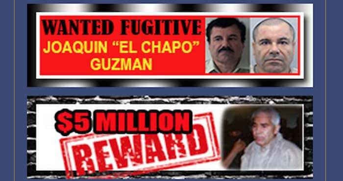 """DEA pide pistas del público en todo el continente para dar con """"El Chapo"""""""