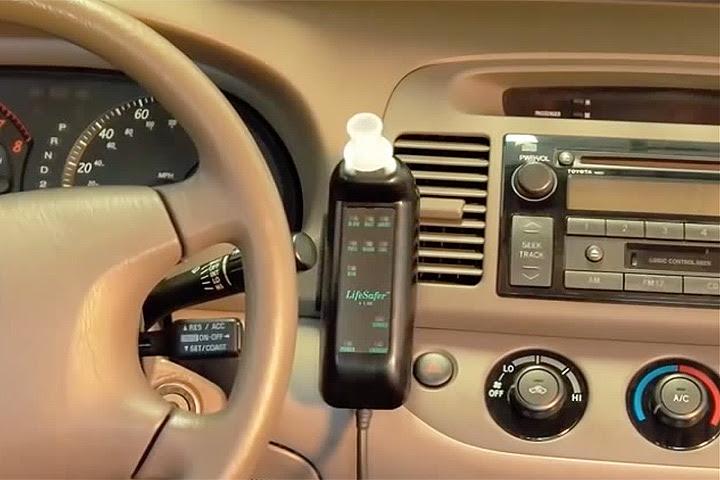 Una medida para evitar que un conductor ebrio encienda el auto