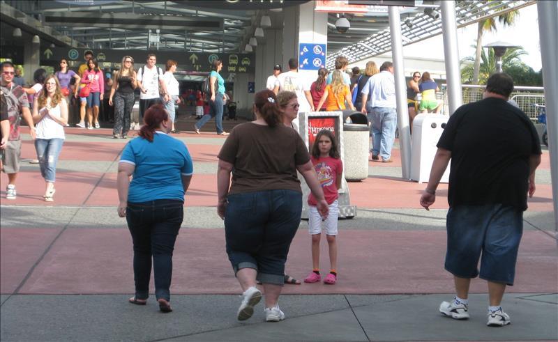 Los problemas de obesidad son alarmantes.