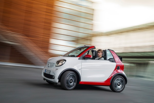 Éste es el nuevo Smart Fortwo Cabriolet