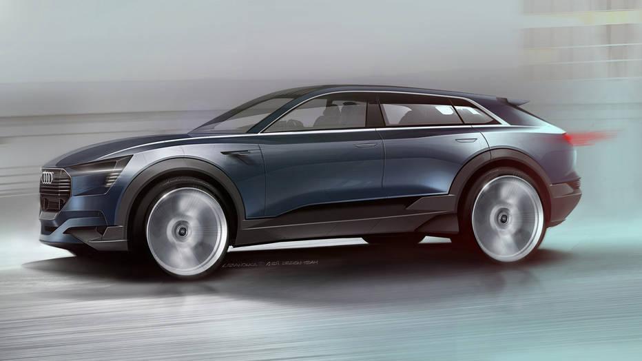 Pronto veremos el SUV eléctrico de Audi