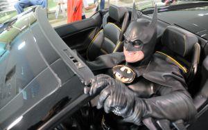 """Murió el """"Batman"""" que sorprendía a chicos enfermos en EEUU"""