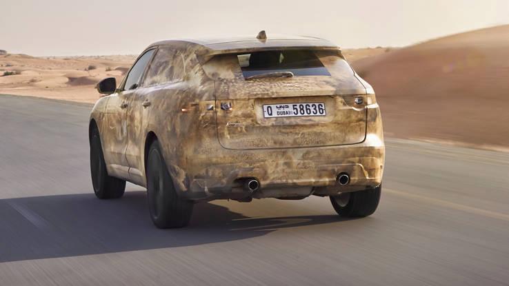 El primer SUV de Jaguar debutará en el Auto Show de Frankfurt