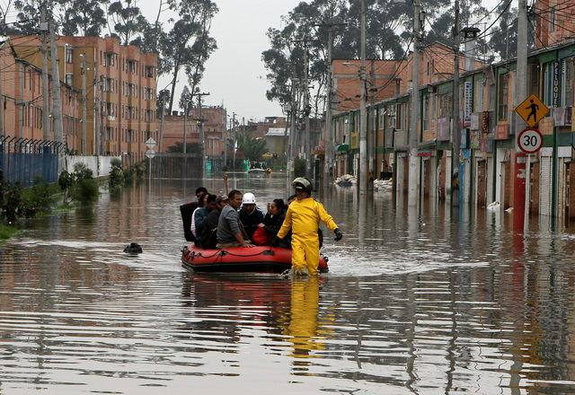 Lluvias mortales ahogan Colombia