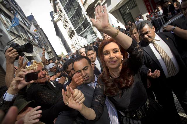 Fernández lista para asumir presidencia