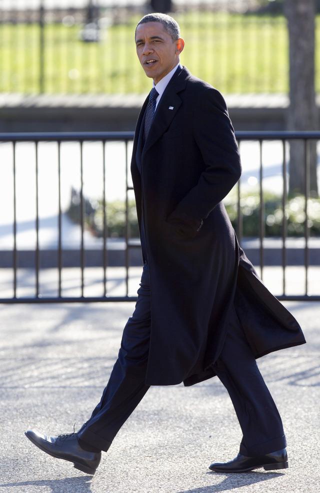 Obama, un pasito para el centro