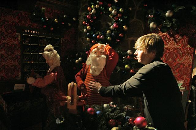 Navidad engalana vidrieras de Manhattan