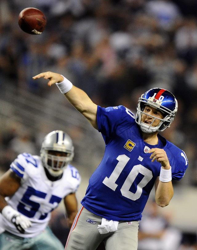 Giants se crecen con Manning