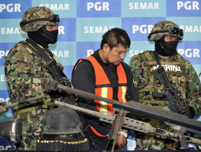 Capturan en Veracruz a 'Lucky' con arsenal