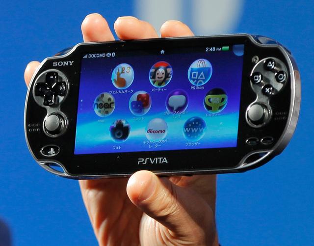Vita PlayStation de Sony hace su debut