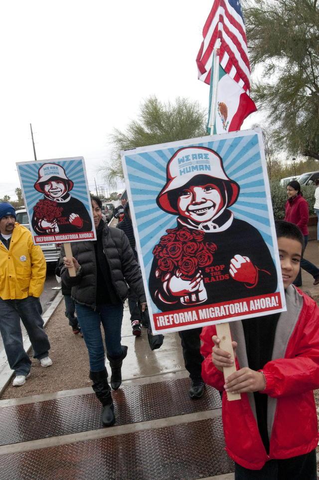 Campaña educativa contra deportación