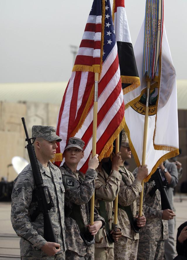 EEUU entrega última base en Irak