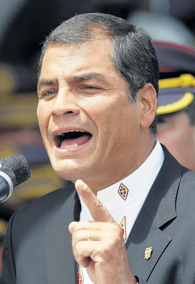 Histórico encuentro Correa-Santos