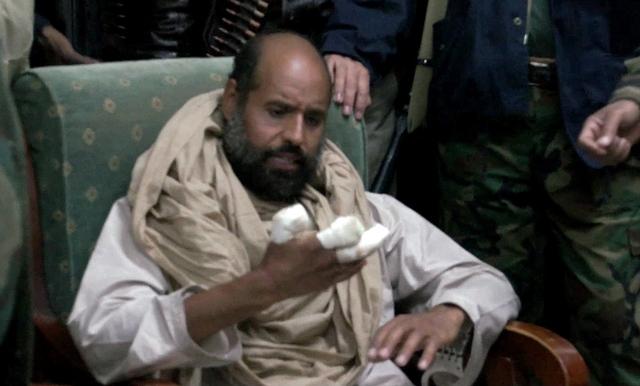 Hijo encarcelado de Gadafi no tiene abogado