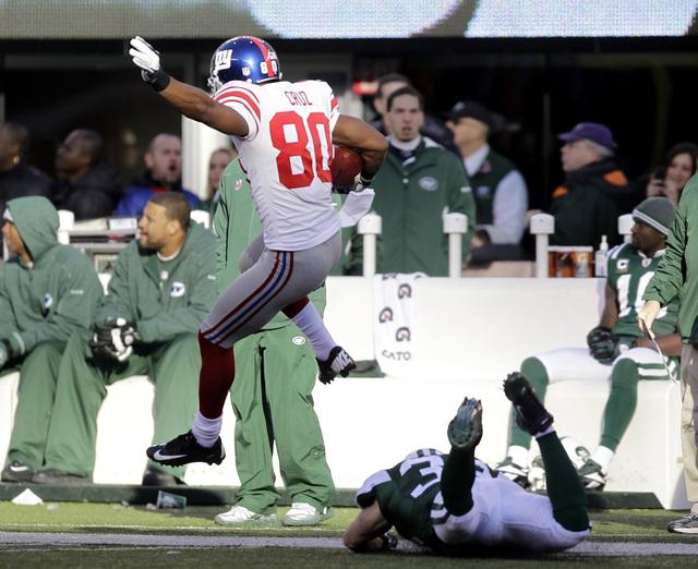 Giants dejan sin gas a los Jets