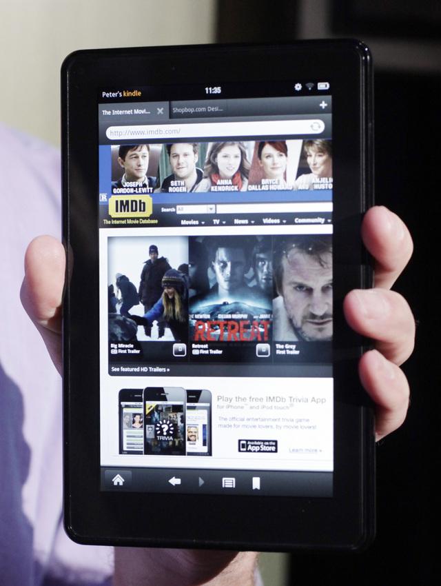 Tableta Kindle se ha vendido como pan caliente