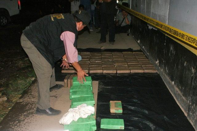 Policía  decomisa 113 kilos de cocaína