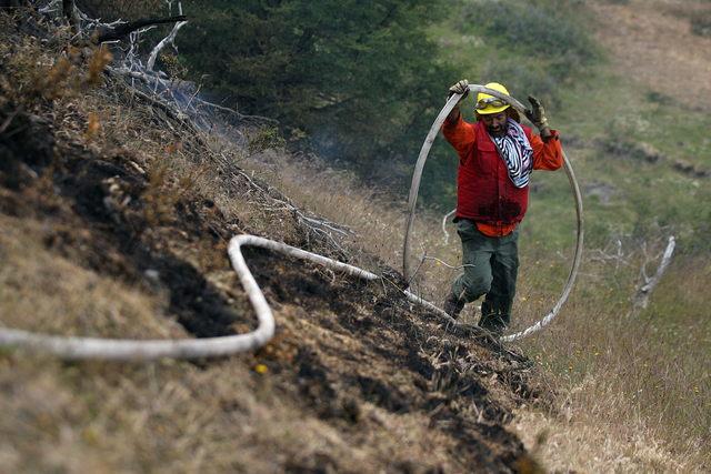 Chile pide ayuda por voraz incendio
