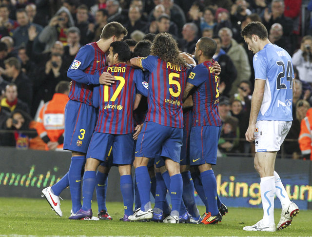 Barcelona gana cómodo