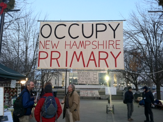 New Hampshire decide hoy en medio del frío