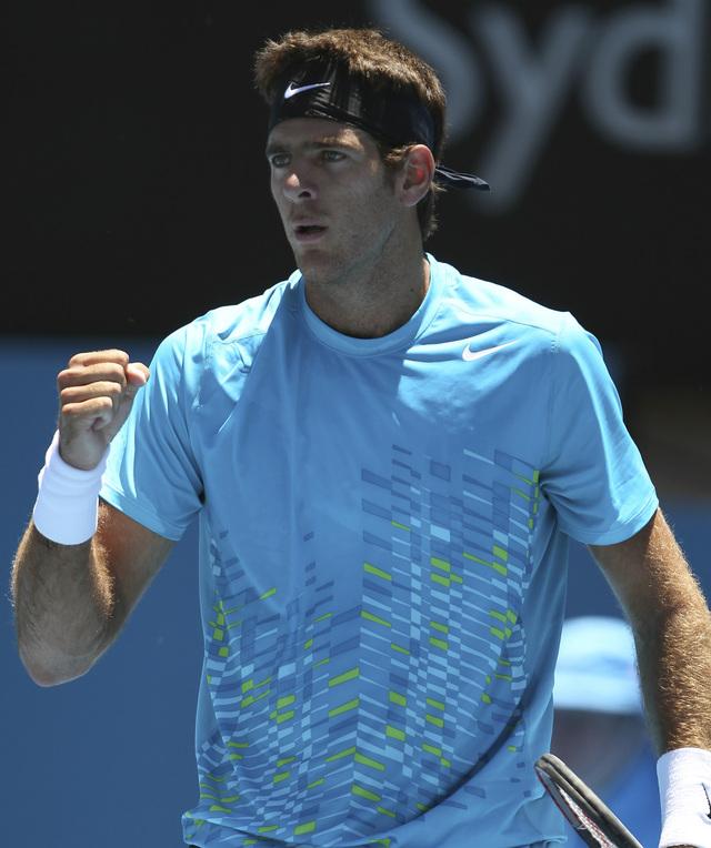 Del Potro avanza a semifinales en Sydney