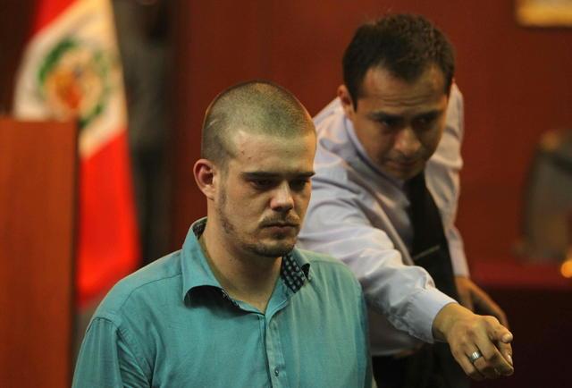 Holandés se declara culpable de asesinato