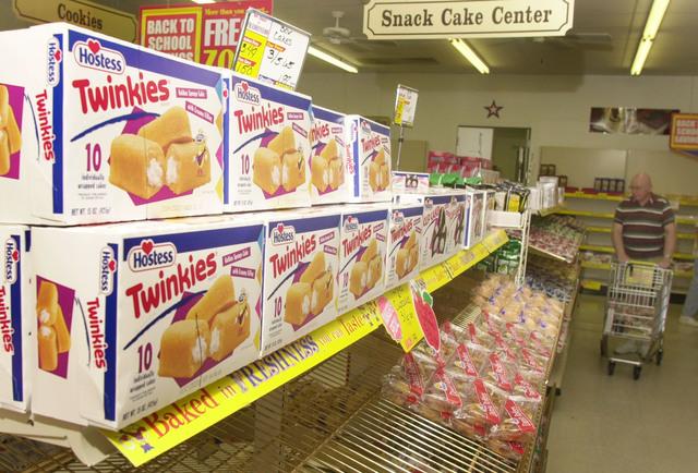 Fabricante de Twinkies  en bancarrota