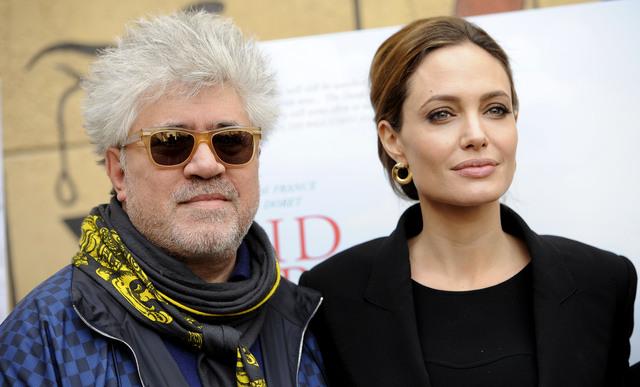Angelina Jolie y Almodóvar  podrían trabajar juntos