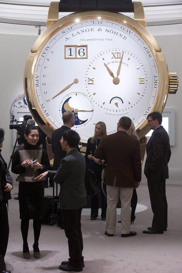 Relojes de lujo no padecen la crisis