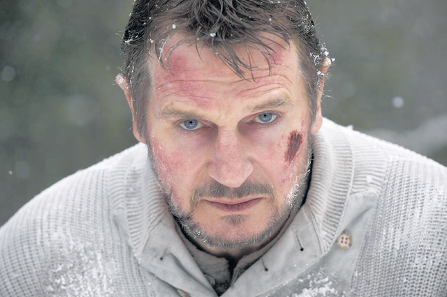 Liam Neeson sobrevivió a 'The Grey'