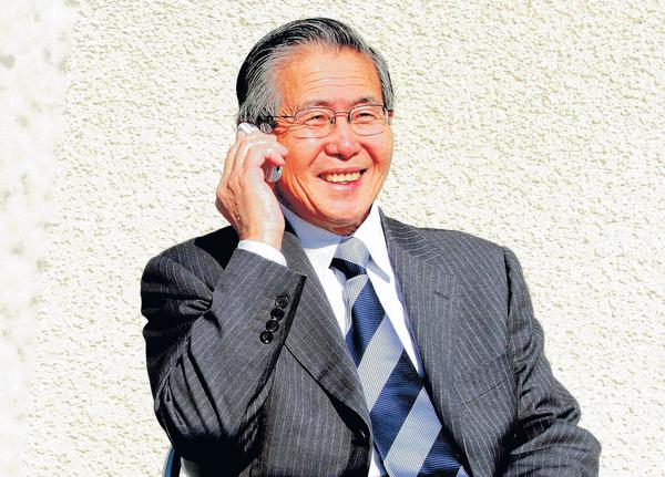 Alan García propuso el indulto de Fujimori