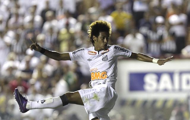 Neymar tuvo ante el Botafogo su mejor juego del 2012.
