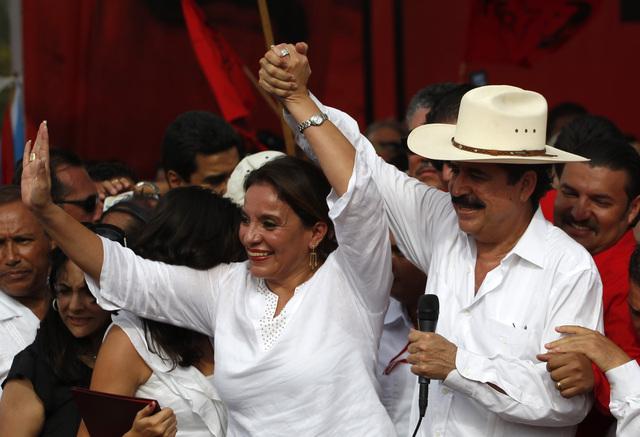 Esposa de Zelaya lanza su precandidatura