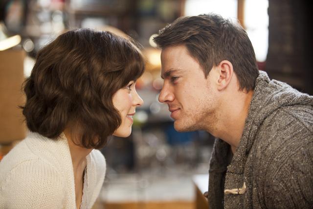 "Rachel McAdams y Channing Tatum protagonizan ""The Vow""."