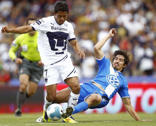 Un intenso duelo vivieron los oncenos de Pumas y Puebla, que al final se llevó un gran triunfo de visitante.