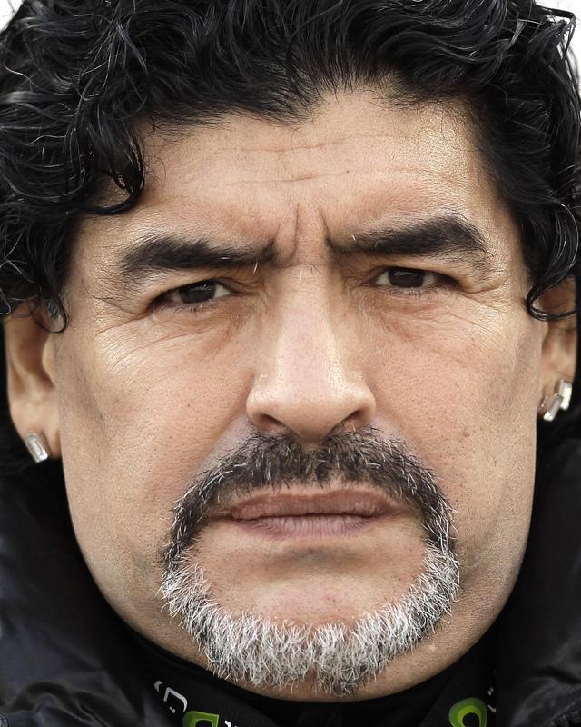 A Maradona le gustaría dirigir al Napoli en el futuro