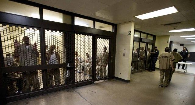 Un aspecto de la cárcel del condado Cook, que  aprobó una  ordenanza para  que suspendieran las retenciones, a menos que ICE reembolse los gastos.