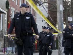 Foto de archivo que muestra a la policía de NY.