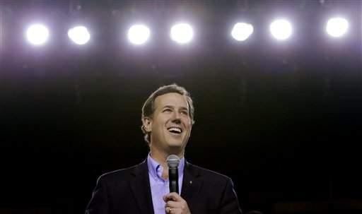 Santorum cuenta con el apoyo de los votantes del movimiento ultraconservador Tea Party y de los evangélicos.