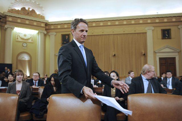 El secretario del Tesoro de Estados Unidos, Timothy Geithner.